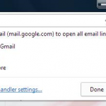 Setup Gmail as Default Mailto Client